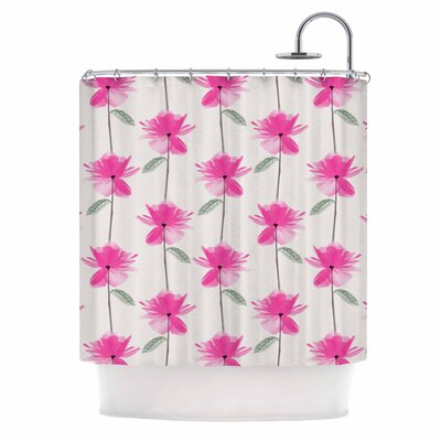 DLKG XRay Petals Shower Curtain