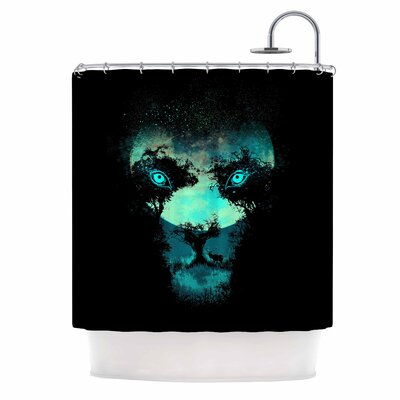 Digital Carbine Silence Hunter Shower Curtain
