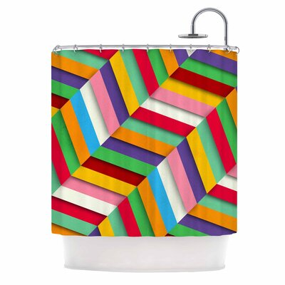 Danny Ivan Excuse Me Abstract Shower Curtain