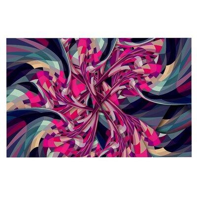 Danny Ivan Spiral Geometric Doormat