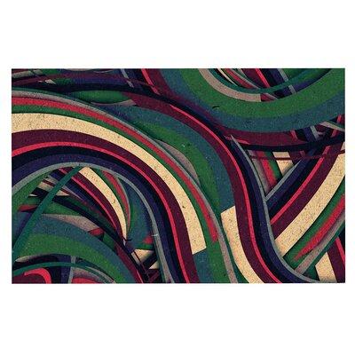 Danny Ivan Swirl Madness Geometric Doormat