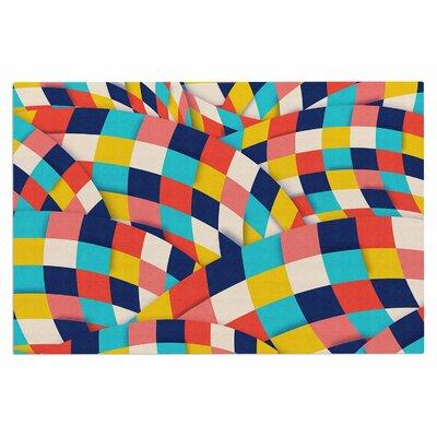 Danny Ivan Curved Squares Doormat