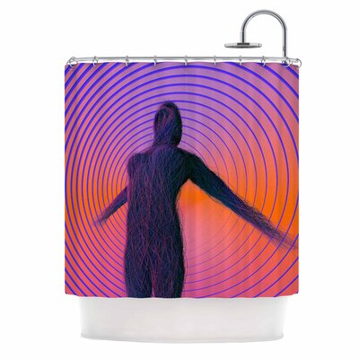 Danny Ivan Human Soul Shower Curtain
