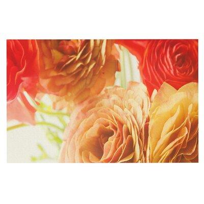 Debbra Obertanec Springtime Ranunculus Floral Doormat