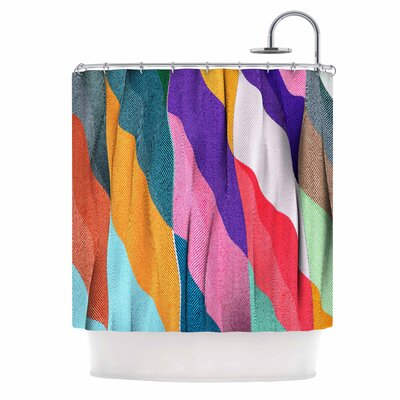 Danny Ivan Timeless Texture Shower Curtain
