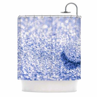 Debbra Obertanec Sparkle Glitter Shower Curtain