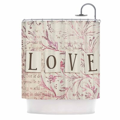 Debbra Obertanec Simply Love Shower Curtain