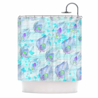 Danii Pollehn Featherdream Illustration Shower Curtain