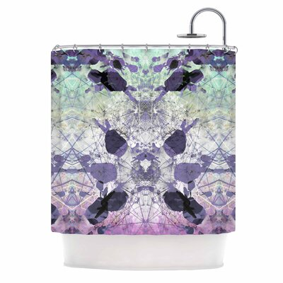 Danii Pollehn Geometrical Jumper Shower Curtain