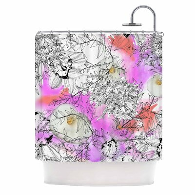 Danii Pollehn Flowerlights Shower Curtain