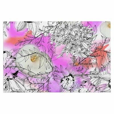 Danii Pollehn Flowers Doormat