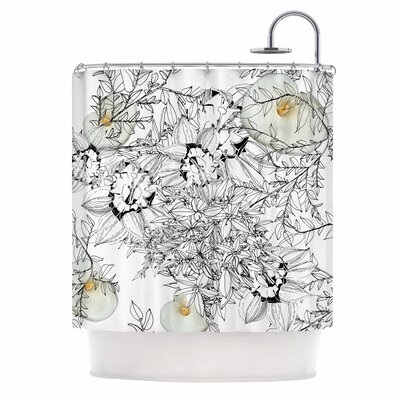 Danii Pollehn Finebuqet Shower Curtain