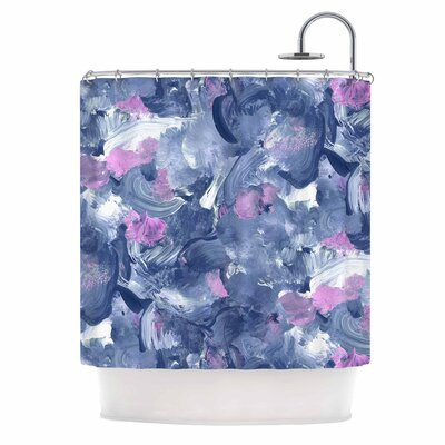 Danii Pollehn Swirly Shower Curtain