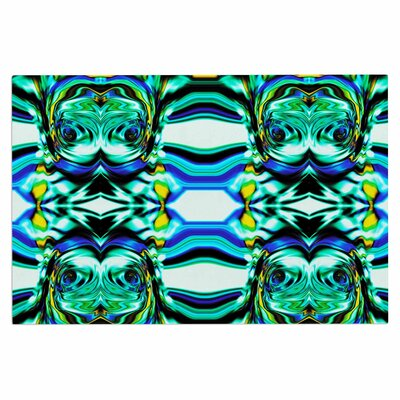 Dawid Roc Inspired by Psychedelic Art 5 Abstract Doormat