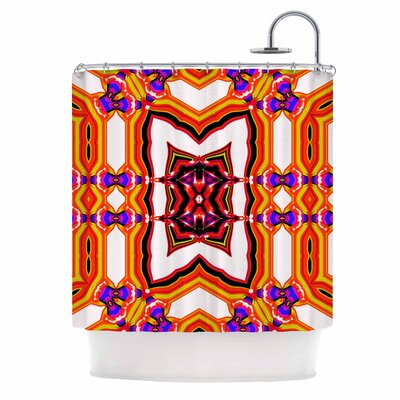 Dawid Roc inspired By Psychedelic Art 4 Abstract Shower Curtain