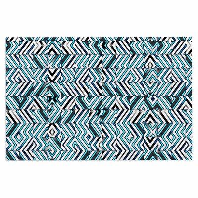 Dawid Roc Maze Geometric Abstract 2 Doormat