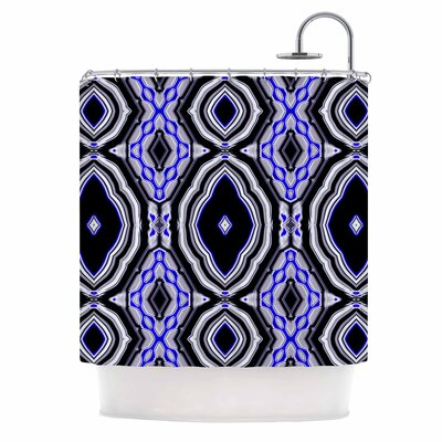 Dawid Roc inspired By Psychedelic Art 3 Abstract Shower Curtain
