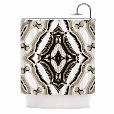 Dawid Roc Inspired by Psychedelic Art 6 Shower Curtain