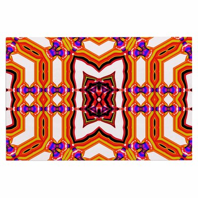 Dawid Roc Inspired by Psychedelic Art 4 Abstract Doormat