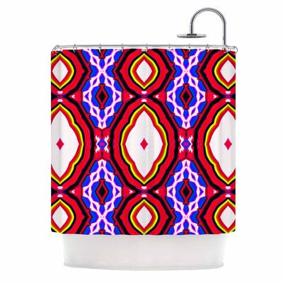 Dawid Roc inspired By Psychedelic Art 2 Abstract Shower Curtain