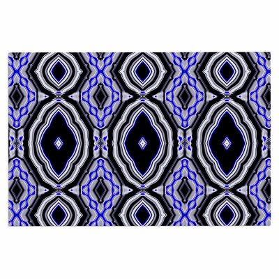 Dawid Roc Inspired by Psychedelic Art 3 Abstract Doormat Color: Purple