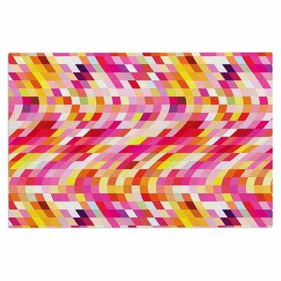 Dawid Roc Colorful Geometric Movement 2 Doormat