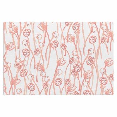 Danii Pollehn Poppy Pastel Illustration Doormat