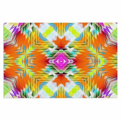 Dawid Roc Colorful Tribal Mosaic Tribal Doormat
