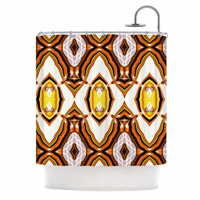 Dawid Roc inspired By Psychedelic Art 1 Shower Curtain