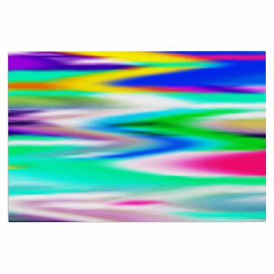Dawid Roc Lively Atmosphere Abstract Doormat
