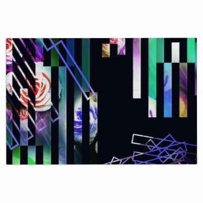 Dawid Roc Geometric Stripes Abstract Stripes Doormat