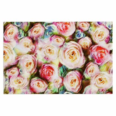 Dawid Roc Pastel Rose Romantic Gifts Photography Doormat