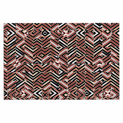 Dawis Roc Maze Geometric Abstract 1 Doormat