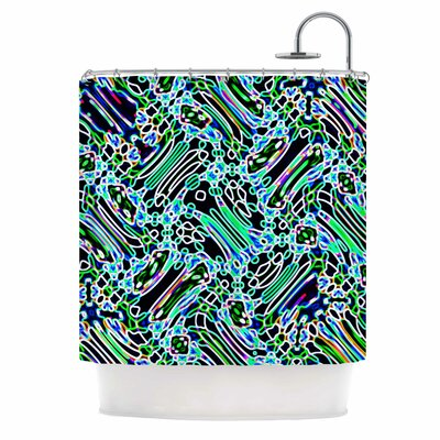 Dawid Roc Camouflage Shower Curtain
