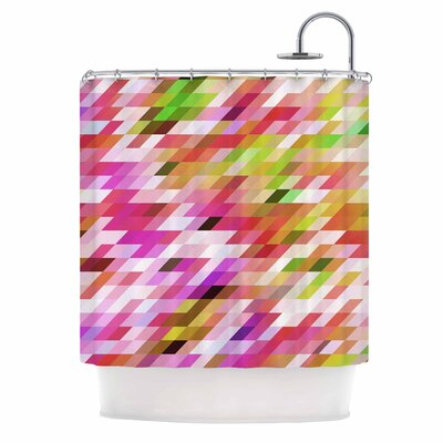 Dawid Roc Spring Summer Geometric Shower Curtain