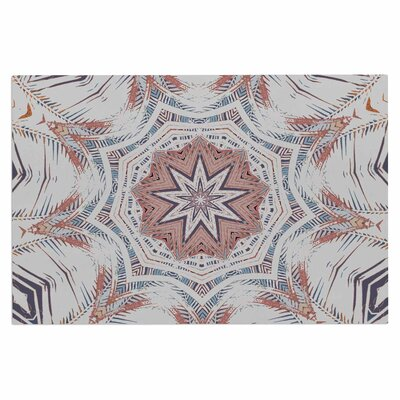 Alison Coxon Boho Dream Doormat Color: Tan/Pink/Blue