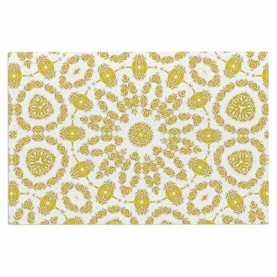 Alison Coxon Flaxen Mandala Digital Doormat