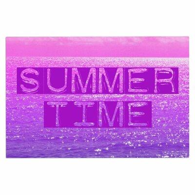 Alison Coxon Summer Time Typography Doormat