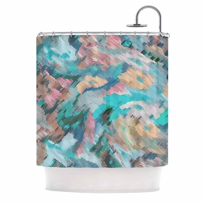 Alison Coxon Giverny Abstract Shower Curtain