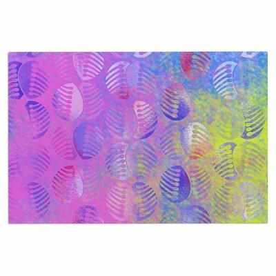 Dan Sekanwagi Poddy Combs Subtle Pastels Doormat