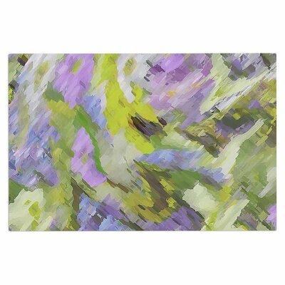 Alison Coxon Giverny Lilac Doormat