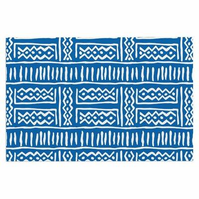 Dan Sekanwagi Lines Zigzags Tribal Doormat