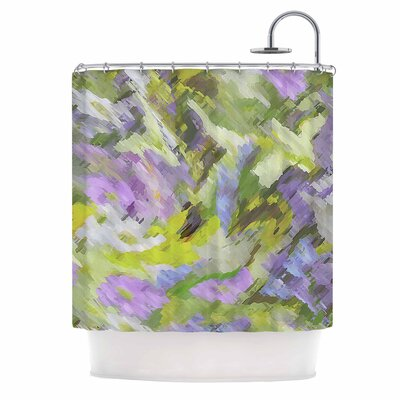 Alison Coxon Giverny Lilac Shower Curtain