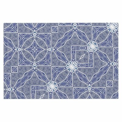 Alison Coxon Santorini Tile Digital Doormat