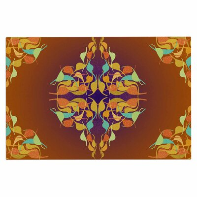 Dan Sekanwagi Feast Abstract Doormat