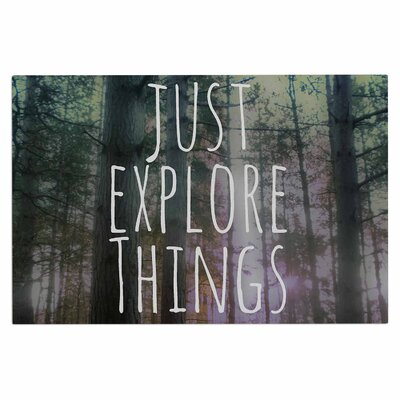 Alison Coxon Just Explore Things Photography Doormat