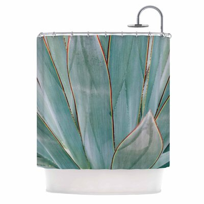 Ann Barnes Agave Abstract Photography Shower Curtain