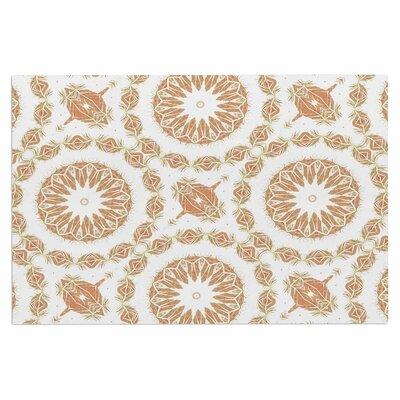 Alison Coxon Citrine Mandala Tile Digital Doormat