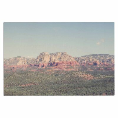 Ann Barnes Sedona Skies Photography Doormat