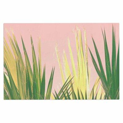 Ann Barnes Neon Jungle II Pastel Photography Doormat
